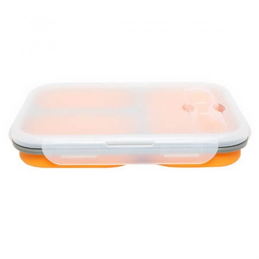 orange silicone lunch box 02