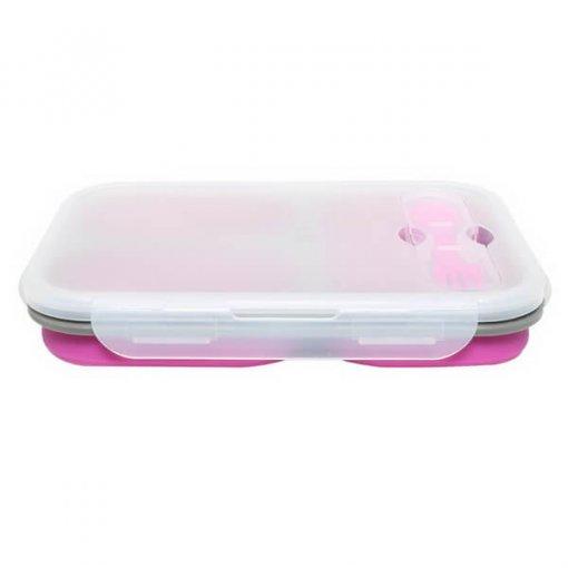 purple silicone lunch box 02