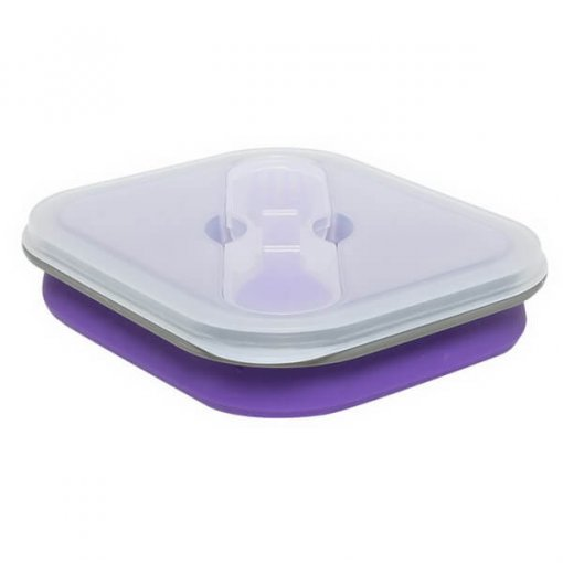 600 purple silicone lunch box 01